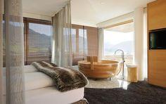 Erholung und Entspannung in unseren einzigartigen Design Zimmer und Suiten im Wellnesshotel HUBERTUS Alpin Lodge & Spa im Allgäu, Bayern