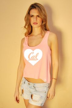 Cal Berkeley Tank Top. Cal Bears Tank. UC Berkeley. Berkeley Tank. Sorority Top. College Tank Gym Top. Cute Workout Tank. San Francisco on Etsy, $24.00