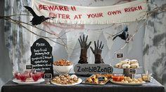 zombie party decoration ...