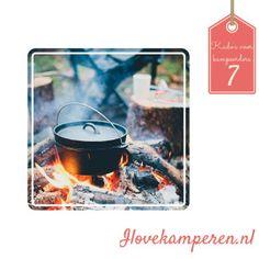 Dutch oven pan van Urbans and Indians- 10 kado's voor mannen die graag kamperen! - 10 gifts for men who love to camp! #camping #caravan #gift #present #kado
