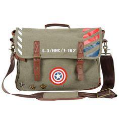 Captain America Vintage Military Satchel - $75 ⋆ Marvel Gifts! …
