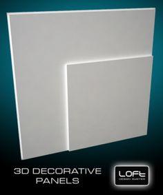Loft-3D Dekor-6 falpanel - LOFT DESIGN GIPSZ PANELEK - A legújabb trend a belsőépítészetben! - WallArt, Loft Design 3D és Kerma műbőr falpanel és falburkolat webáruház
