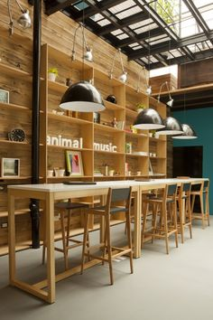 Animal Music Office | Wooden Office Interiors