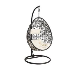 Hangstoel Swing – zwart – Home Dekor Chill Lounge, Chill Room, Teen Bedroom, Dream Bedroom, Bedroom Decor, Bedroom Ideas, Bedrooms, Hanging Egg Chair, Swinging Chair