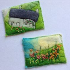 Two of my popular original artists cards are new in my shop. An inexpensive way to collect original art. Special aceo frames are available in other etsy shops. Felt Pictures, Flower Pictures, Artist Card, Spring Colors, Atc, Original Art, Frames, Shops, Miniatures