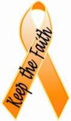 Keep the faith in self harm ribbon