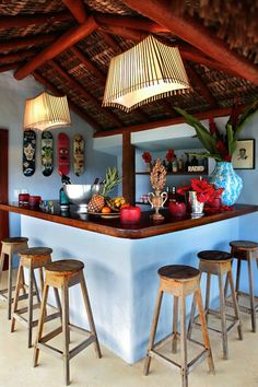 The Novogratz's house in Trancoso, Brazil