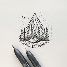 WANDER ON... #art #illustration by samlarson