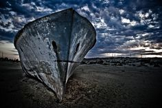 HDR Ship in Aral Sea