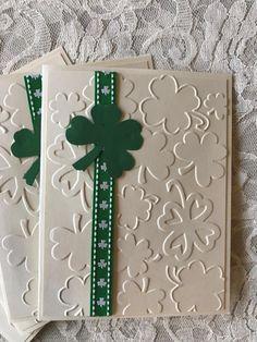 New holiday cards handmade st patrick 44 Ideas Handmade Greetings, Greeting Cards Handmade, Handmade Easter Cards, St Patricks Day Cards, Saint Patricks, Saint Patrick's Day, St Patrick's Day Crafts, St Patrick Day Shirts, St Paddys Day