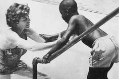 Eunice Kennedy Shriver began by inviting children with disabilities to participate in summer day camp in her own backyard. The first Special Olympics international games were held in 1968.