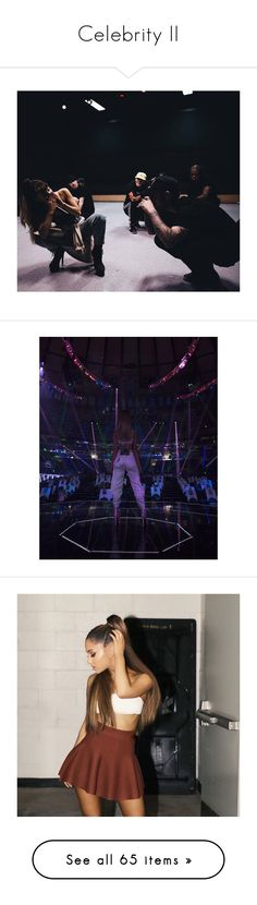 """""""Celebrity II"""" by yendry-mariela-garcia-perez ❤ liked on Polyvore featuring ariana grande, pics, selena, pictures, selena gomez, emma stone, hair, halsey, ashley and filler"""