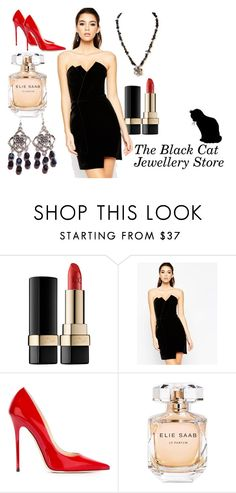 """3"" by tamara-sucha ❤ liked on Polyvore featuring Dolce&Gabbana, ASOS, Jimmy Choo and Elie Saab"