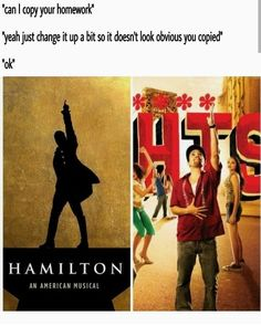 In the Heights and Hamilton by Lin Manuel Miranda Theatre Nerds, Musical Theatre, Broadway Theatre, Alexander Hamilton, Fandoms, Hamilton Lin Manuel Miranda, Hamilton Musical, Oui Oui, Thats The Way