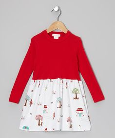 Love this Alejandra Kearl Designs Red Little Red Riding Hood Dress - Infant, Toddler & Girls by Alejandra Kearl Designs on #zulily! #zulilyfinds