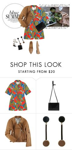 """""""Untitled #1533"""" by talita-roberto ❤ liked on Polyvore featuring House of Holland, Jacquie Aiche, Doma, Marni, Bagatt, men's fashion and menswear"""