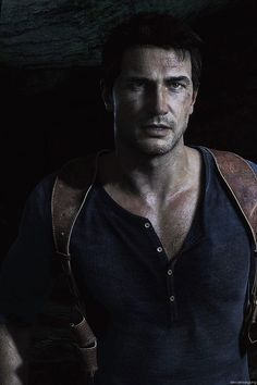 Nathan Drake [Uncharted] - it kinda looks like he's giving the bedroom eyes here IMO. Whatever it is I just really like this picture of him Nathan Drake, Drake Uncharted 4, Uncharted Series, Wii, Ps Wallpaper, A Thief's End, Video Humour, Adventure Games, Ps4 Games