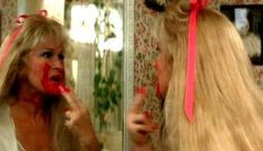 """Diane Ladd goes loco with a tube of lipstick in 'Wild at Heart"""""""