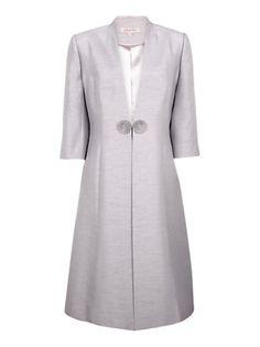 Jacques Vert Pebble Dress Coat