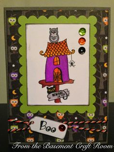 From the Basement Craft Room: Birdhouse collection- halloween (best nest- taylored expressions)