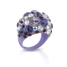 Confetti Lavender Ring by Angelique de Paris at @Kimberly Smith Jewelers