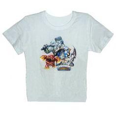 Tee-shirt Skylanders giants - blanc