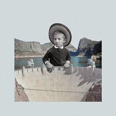 Collage Artworks by Ash White – Inspiration Grid | Design Inspiration