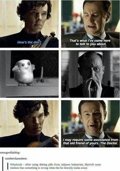 Mycroft and Adipose