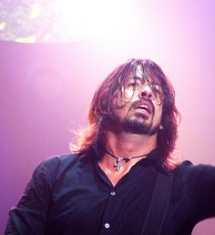 Dave Grohl at St Louis, MO 9/17/11 by Teri Davis. We were upclose and personal at this show.