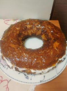 Μπαμπάς (3 μονάδες) Doughnut, Desserts, Food, Tailgate Desserts, Deserts, Essen, Postres, Meals, Dessert