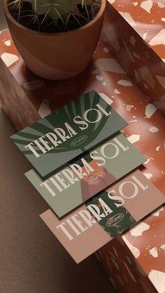 Collateral Design, Brand Identity Design, Branding Design, Logo Design, Flower Shop Decor, Creative Box, Simple Illustration, Graphic, Business Card Design