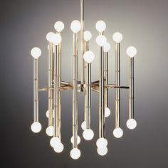 70s chandelier | ... Chandelier in Ceiling Lights & Pendants - contemporary - chandeliers