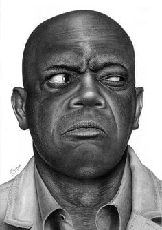 Samuel L. Jackson by Marcos Jorge Rodrigues