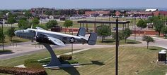 Goodfellow Air Force Base:  The first of many military homes.  This one in San Angelo, TX.