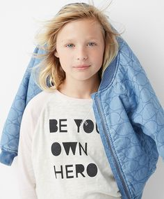 Check out GapKids x ED, a collaboration with Ellen DeGeneres' new lifestyle brand, created to empower girls everywhere. #heyworld