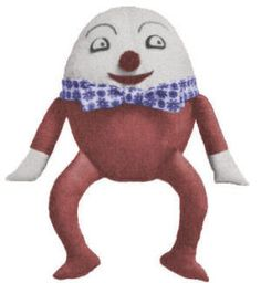 Humpty Dumpty Doll Vintage nursery rhyme Sewing Pattern for download