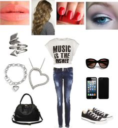"""Casual!"" by emilly101fasion ❤ liked on Polyvore"