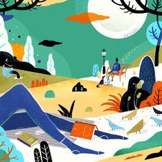 Aditya Pratama's Whimsical Illustrations are Filled with Shape-Shifting Characters | Hi-Fructose Magazine