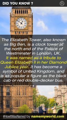 So how will you name your baby? Hint : Use our apps > bit.ly/NMWiphone / bit.ly/NMWandroid  #HowItWasNamed #ElizabethTower #BigBen