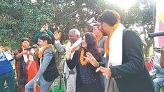 News24 News: MP-Elect Pandit joins Rajja Rani team on stage
