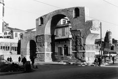 Anthony Blunt, τέλη δεκαετίας 1950, Θεσσαλονίκη, άποψη Αψίδας Γαλερίου