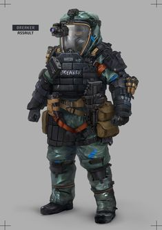 Various Soldier Designs for a game idea me and my friends are working on. Apocalypse Character, Apocalypse Art, Combat Armor, Combat Gear, Armor Concept, Concept Art, Tactical Armor, Post Apocalyptic Art, Futuristic Armour