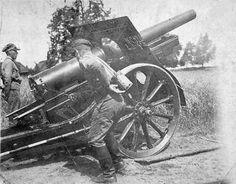 Polskie armaty i pin by Paolo Marzioli Poland Ww2, Military History, World War Two, Cannon, Wwii, Nova, Aircraft, Guns, Army