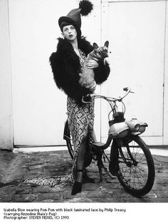 Steven Meisel - Isabella Blow (on a Solex...)
