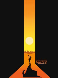 Movie Poster Maze Runner Scorch Trials Negative space reigns supreme with this poster design. Maze Runner: Scorch Trials was one of the . Creative Poster Design, Creative Posters, Graphic Design Posters, Poster Designs, Modern Posters, Poster Art, Kunst Poster, Game Design, Logo Design