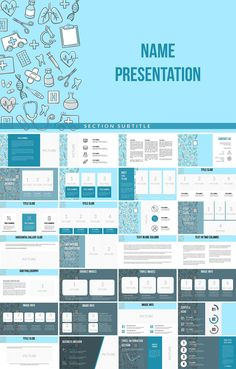 Medical Background PowerPoint template with thematic background and themes (slides and formatted text). Professional Powerpoint Templates, Powerpoint Template Free, Powerpoint Presentation Templates, Keynote Template, Medical Background, Background Powerpoint, Power Points, Double Image, Medical Design