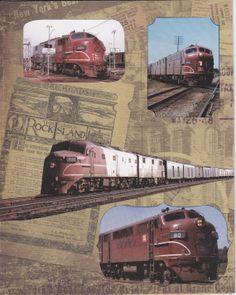 The Rocket Rock Island Railroad
