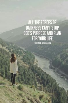 God has a purpose and plan for you...