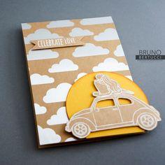 Bruno Bertucci | Stampin' Up! | stampinbruno | Shine On | Beautiful Ride | 2016 Occasions Catalogue | Handmade Card