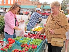 The Farmers Market is back in downtown Hinesville, every Thursday. It starts at 4 p.m.